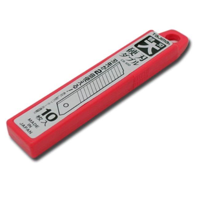 타지마 커터칼날 CB50D 18mm 소형 공구 장판 절삭 [제작 대량 도매 로고 인쇄 레이저 마킹 각인 나염 실크 uv 포장 공장 문의는 네이뽕]