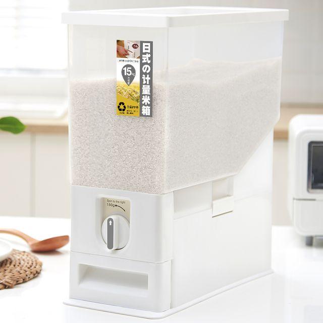 [해외] 일본 주방 쌀통 가정용 방습 방충 밀봉 쌀상자 실린더