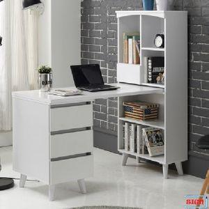 높은다리 서랍통 H형 책상책장세트 G-306