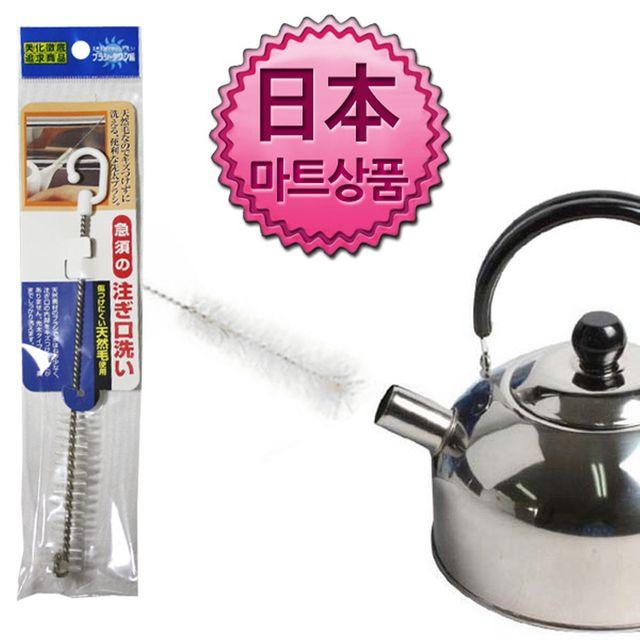 W 일본마트상품 소형 병솔 주전자용 세척솔 병솔