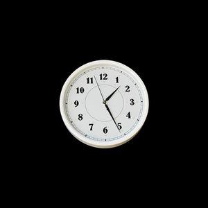 시계 조명 정전시 비상등 (화이트/실버)