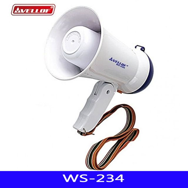 WS LED 미니메가폰 AA-6 1EA