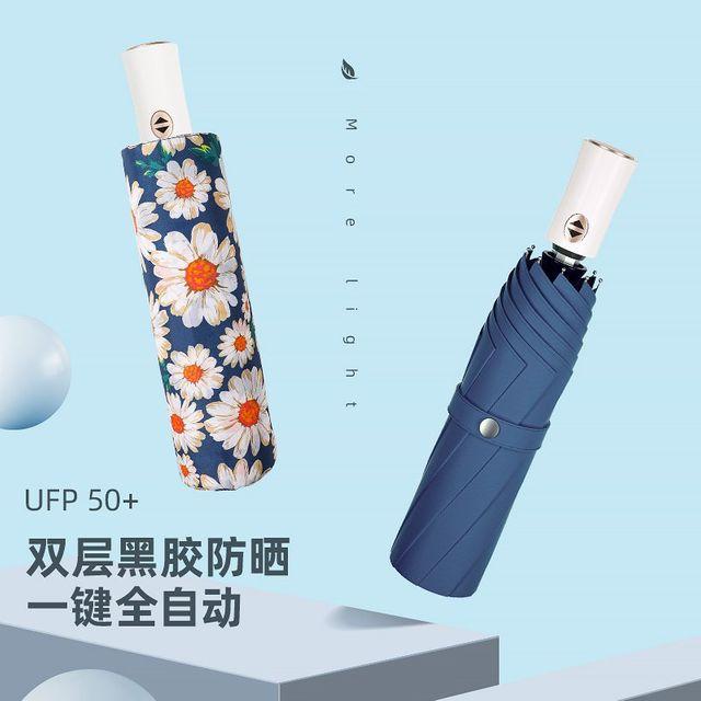 [해외] 패션소품 양산 방수 방풍 비닐 이중 레이어 우산