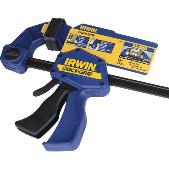 (IRWIN) 어윈 퀵그립 SL300클램프 524QCN 140Kg 압착력