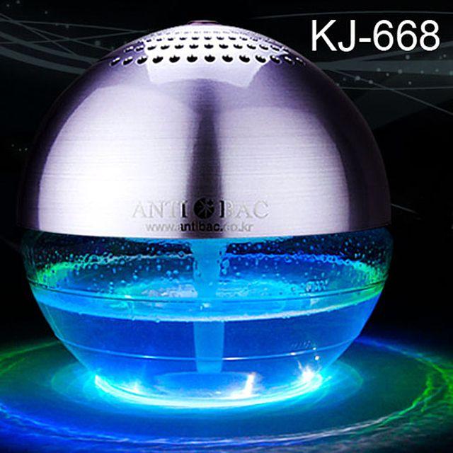ERE안티박 LED 아로마 향균가습 공기청정기 소 400ml KJ-668 솔루션오일별매 010907