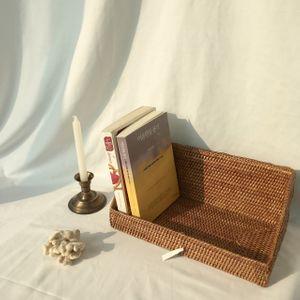 라탄 바구니 라탄 뉴 멀티(cd) 바스켓 大 (Brown)