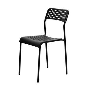 홈 카페 인테리어 카페 등받이 철제 의자