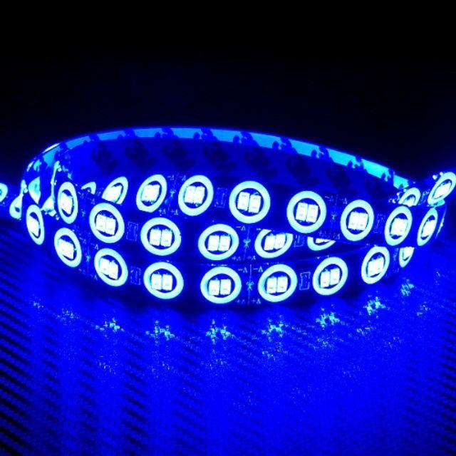 12V 차량용 왕눈이반사타입 LED바 블루LED 11cm