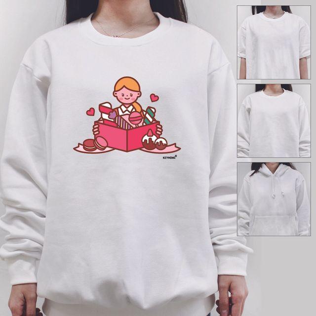 W 키밍 선물 여성 남성 티셔츠 후드티 맨투맨 반팔티