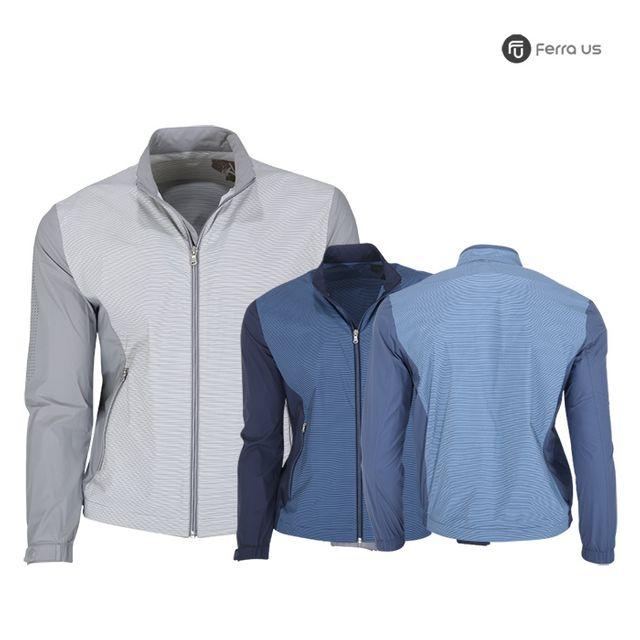 W TCC_페라어스 남성 골프 소매 배색 바람막이 CODJ6033