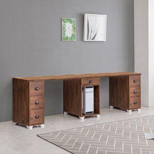 멀바우 2000 서랍본체형 2인용 책상 테이블 ddsd-136