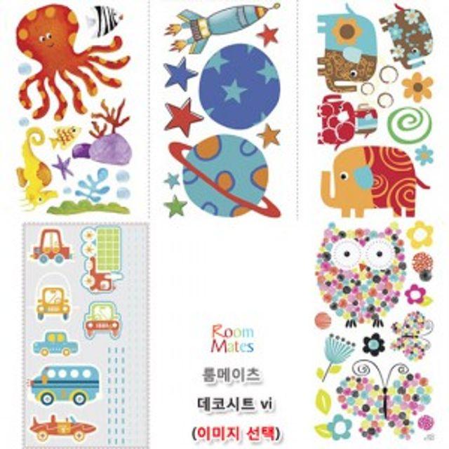 어린이방 초등방 아동 데코 시트 예쁜 캐릭터 나비