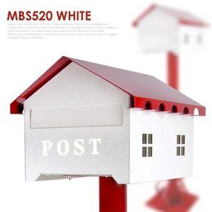 기둥우편함 MBS520 단조우체통우체통 주물장식주택다