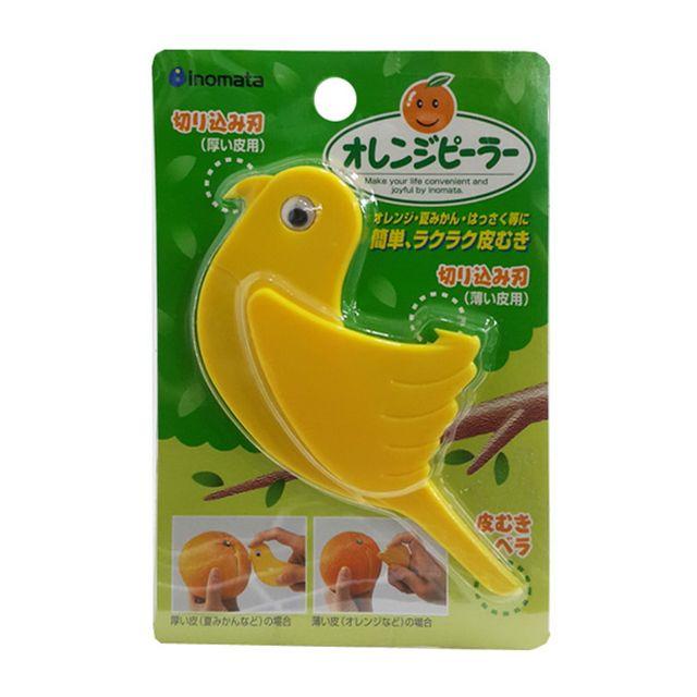 W 일본마트상품 오렌지 껍질까기 칼 껍질 과도 껍