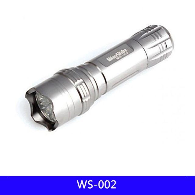 WS 14구 LED 후레쉬 휴대용 등산 AAA-3 1EA