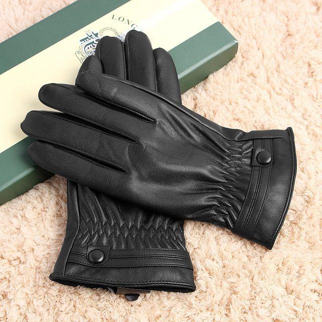 [현재분류명],남성패션의 필수품 포인트 스티치 장갑(PU),방한장갑,가죽장갑,스티치장갑,장갑