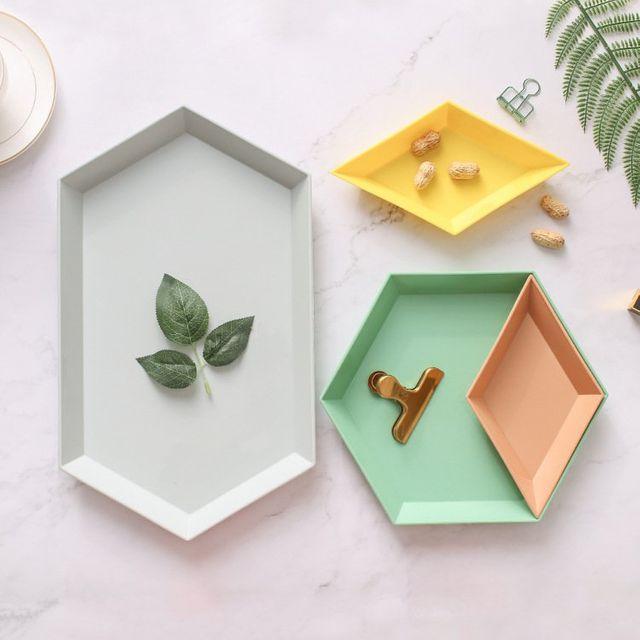 [해외] 주방용품 식판 플레이트 디저트 작은 트레이