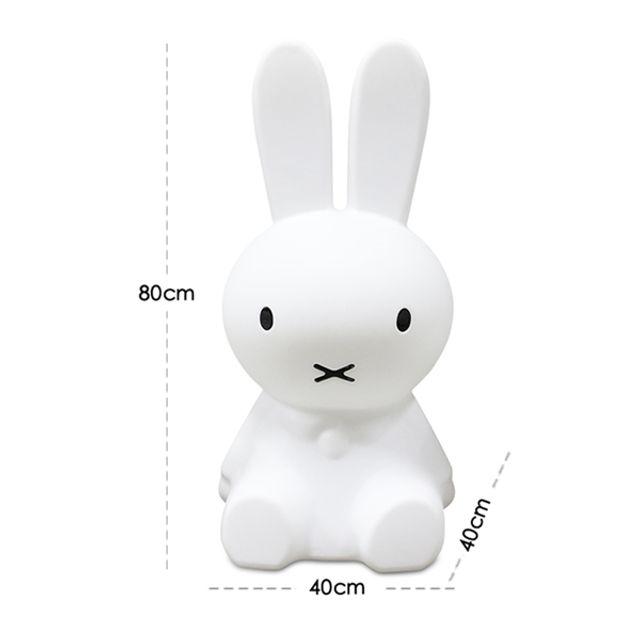 [해외] 미피 토끼 무드등 LED 조명 수유 수면등 일반형 80cm