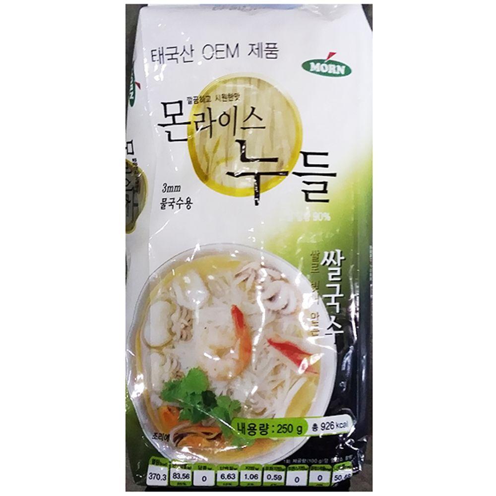 식재료 쌀국수(3mm 몬 250g)X6,쌀국수,식당용쌀국수,업소용쌀국수,식재료쌀국수,식재료