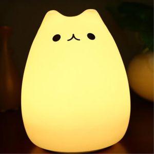 LED조명 리모콘동작 고양이 무드등 침실무드등 키즈룸