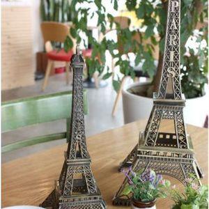 카페 인테리어 엔틱 장식 감성 소품 철제 에펠탑 38cm