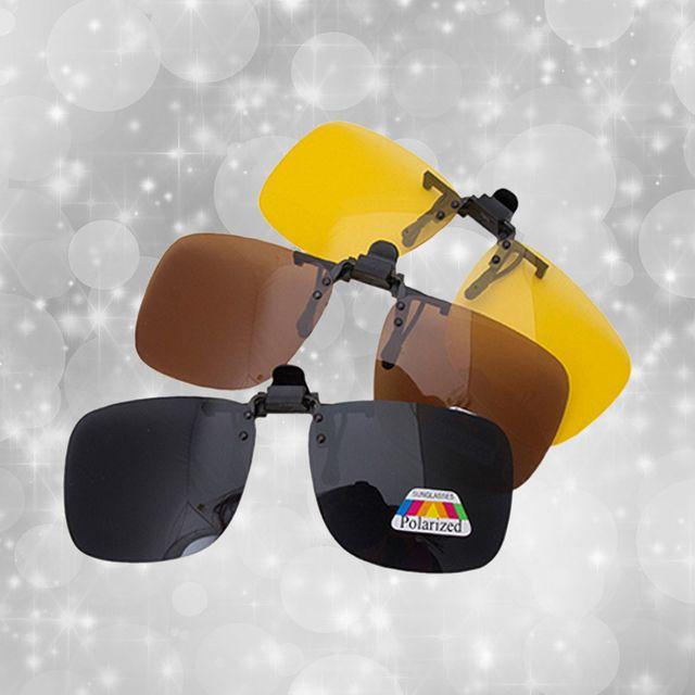Polarized 안경 클립선글라스 편광렌즈