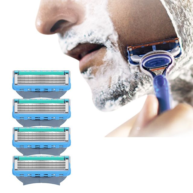 질레트 호환 리필용 프로글라이드 면도날 (4개입)