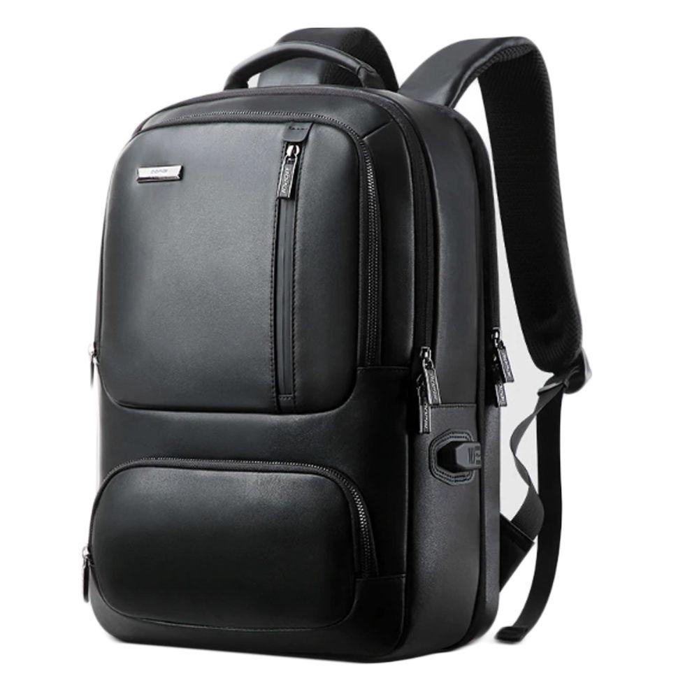 남성 노트북 수납 여행용 가죽 백팩 데일리 가방