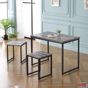 LPM상판 1000 사각철다리 테이블 2인식탁 G-357