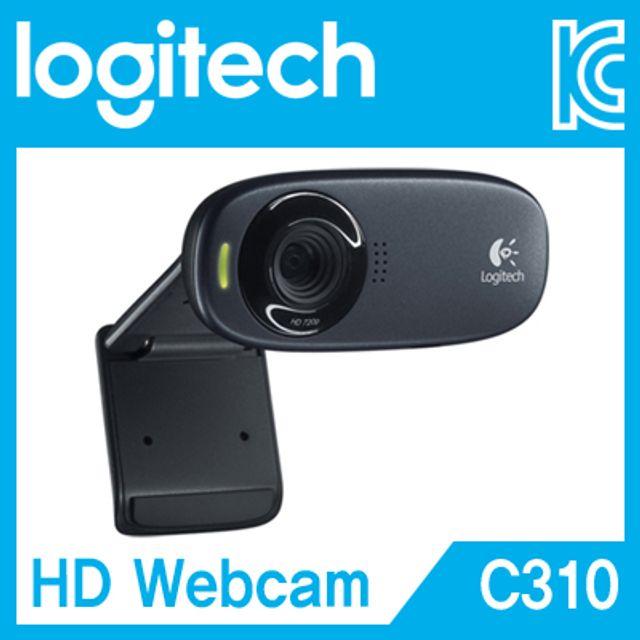로지텍 HD C310 웹캠 화상카메라 pc카메라 방송캠