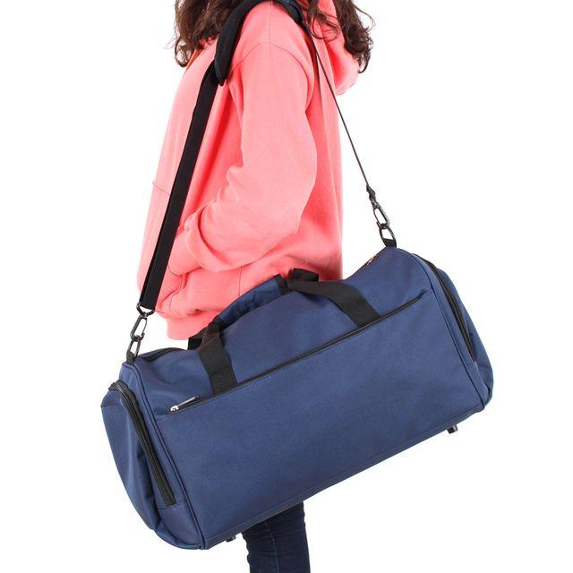 W 심플 캐주얼 넓은 수납공간 여행 휴가 가방 보스턴백