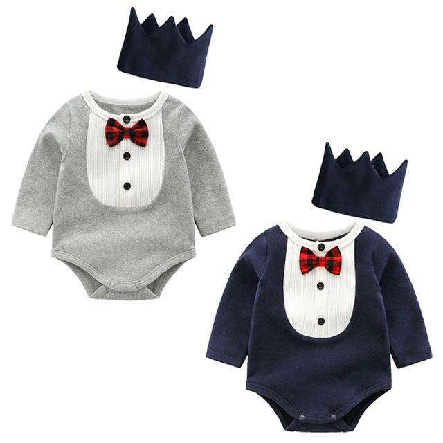 왕관 쓴 왕자님 바디슈트(0-12개월) 203839