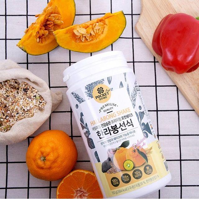더참다운 한라봉 선식 쉐이크(700g) 보틀증정
