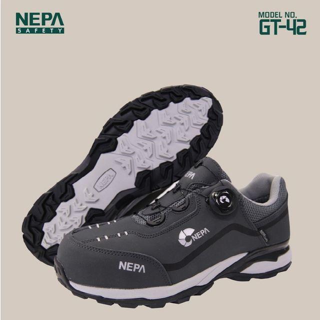 네파 GT42 회색 다이얼