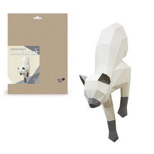 고양이 디자인 장식 소품 만들기 동문 모형 DIY