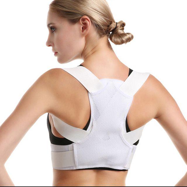 [해외] MAXRON 밴드 어깨 허리 척추 화이트 XS 100~140CM