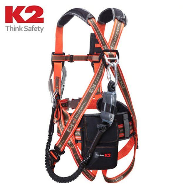 K2 전체식벨트 KB-9202(OR) 016959 안전벨트