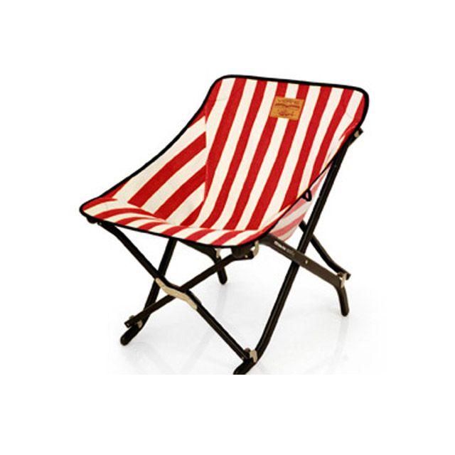 캠핑 낚시 의자 스트라이프 50x61x60cm 1p