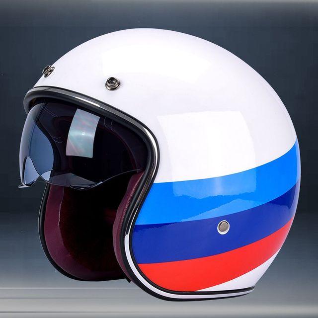 [해외] 할리 오토바이 헬멧 스쿠터 하프 헬멧