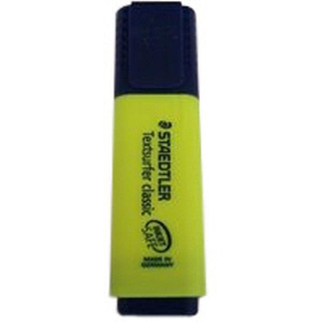 W067734스테들러 형광펜 1-5mm(노랑) 필기구 형광펜 기타브랜드