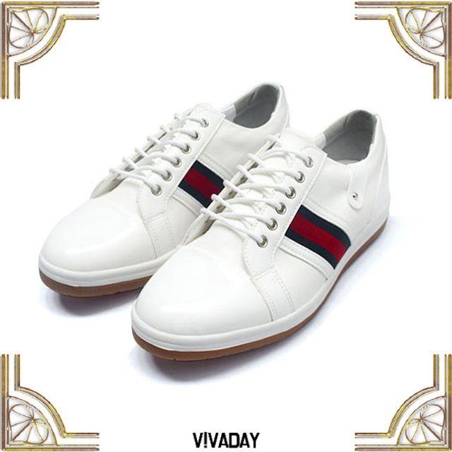 W VIDW-SS86 남성배색줄골프화