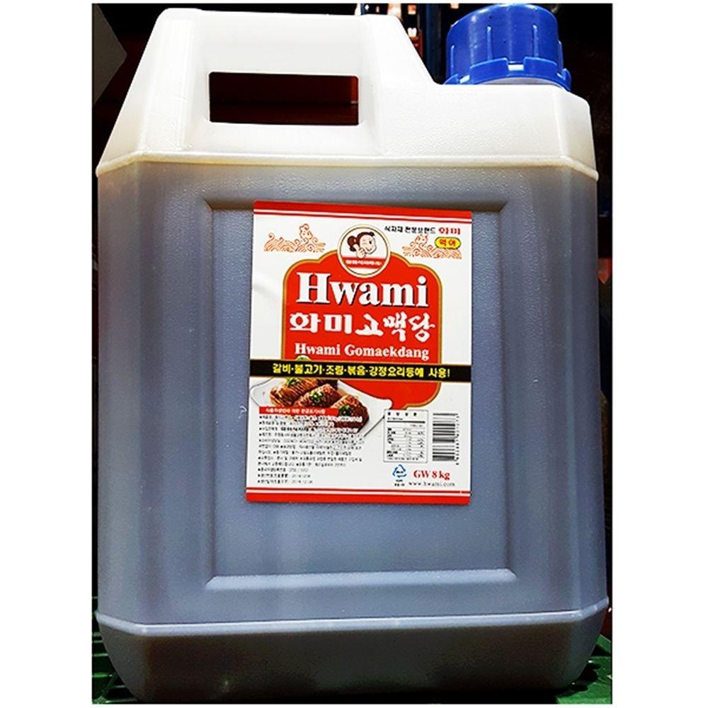 화미 황물엿 조청 대용량식자재 (8KgX1개)