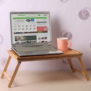 베드테이블 캠핑용 가정용 대나무 좌식 노트북 책상