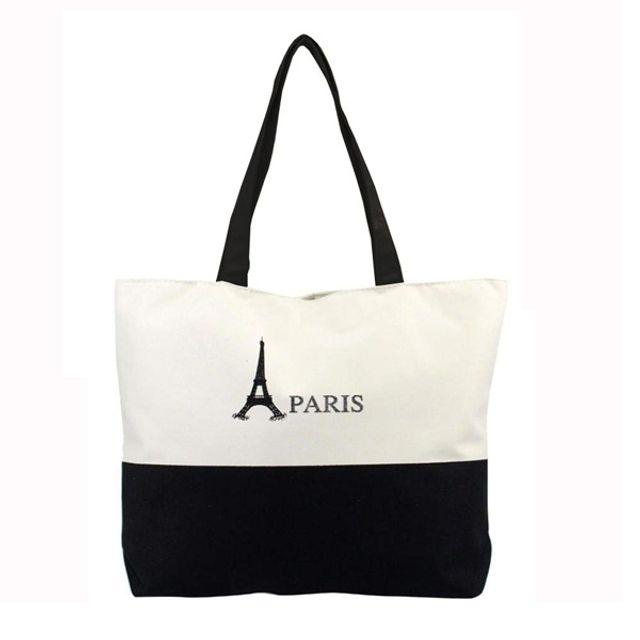 파리 에코백 캔버스백 천가방 숄더백 학생가방