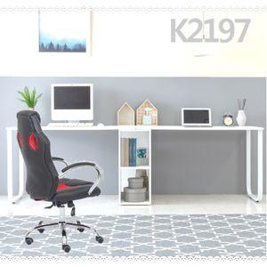 K2197 2인용 첵상 2단수납