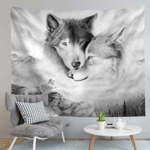 벽 가림막 포스터 늑대의사랑 인테리어소품 3size