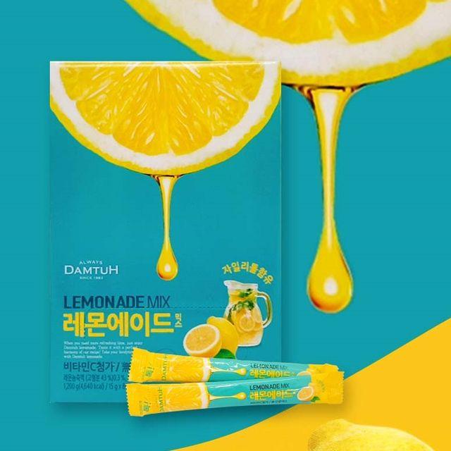 레몬에이드 80T 비타민C 자이리톨 함유 아이스티