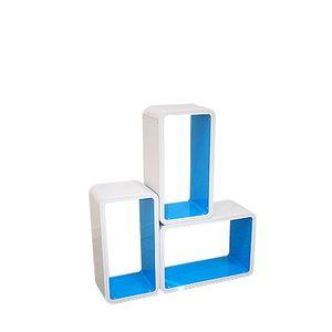 직사각형 컬러 공간박스 선반 DIY 인테리어 책장