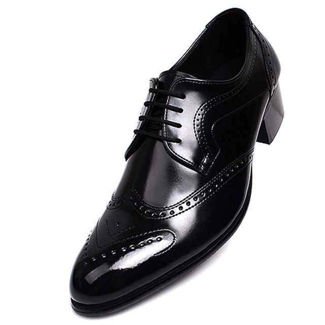 W 남성 윙팁 구두 세련된 신사화 인기 옥스포드화 신발