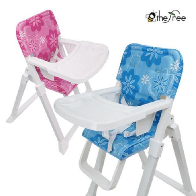아기식탁의자 비더프리 퀵앤이지 핑크 유아식탁의자